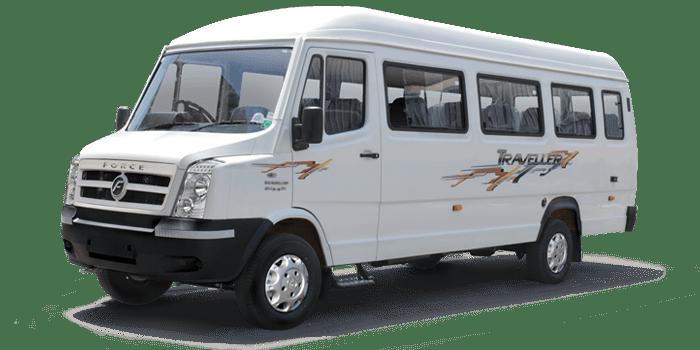 2X1 15+1 Seater Tempo Traveller
