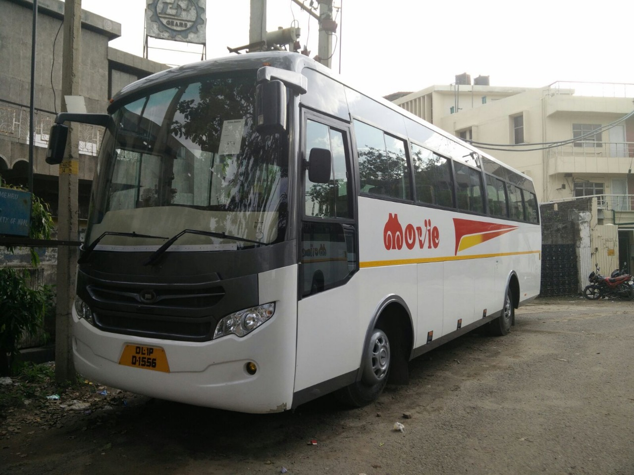 Tata 45 seater coach