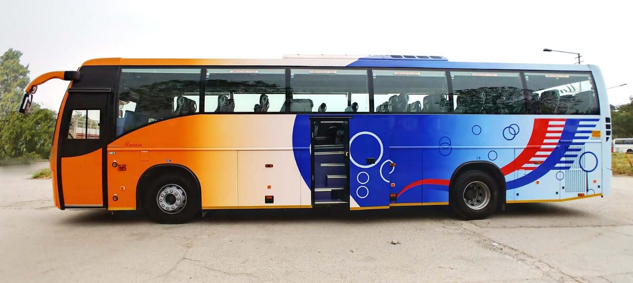 Volvo 41 Seater with washroom Luxury  coach