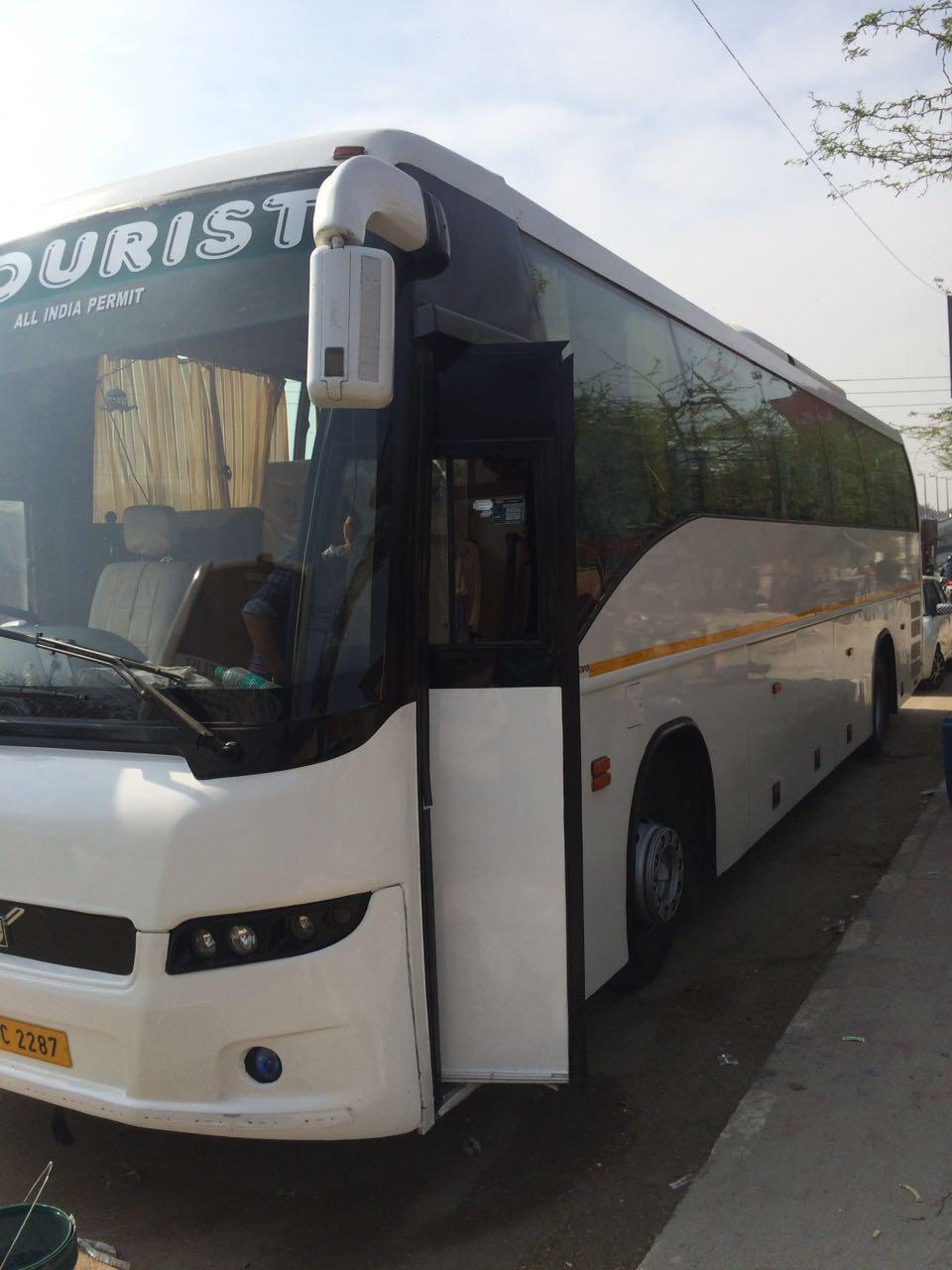 Volvo 45 Seater Luxury Coach on rent in delhi