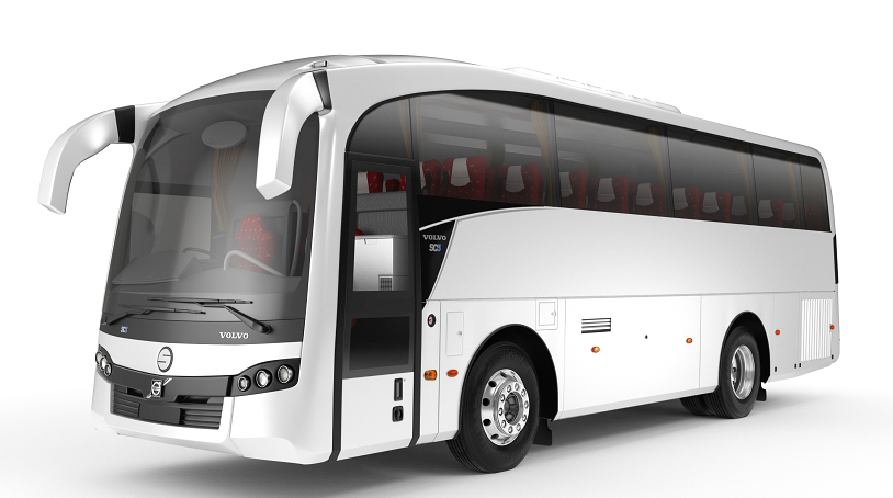 49 Seater Multi Axle volvo on rent in delhi