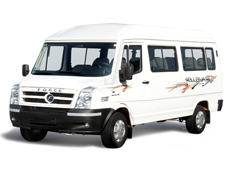 12 Seater Luxury Tempo Travellers  on rent in delhi