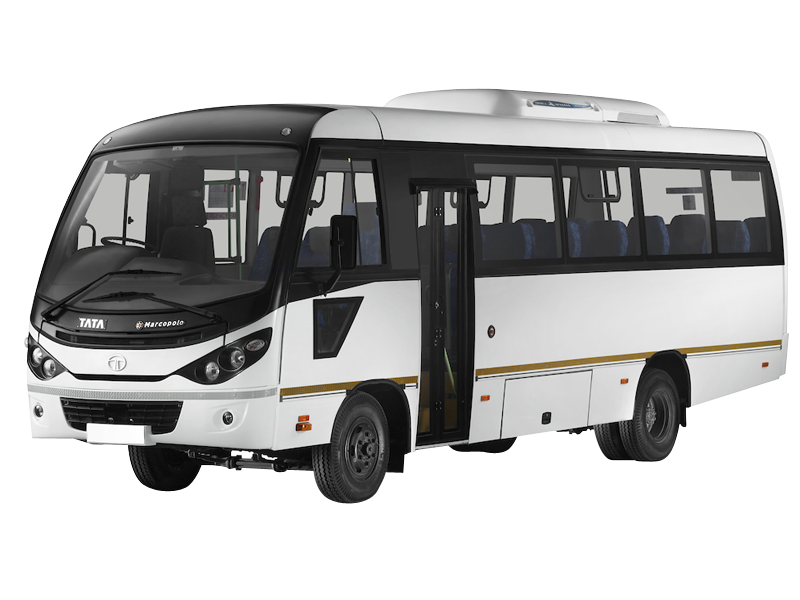 27 Seater Luxury Coach on rent in delhi