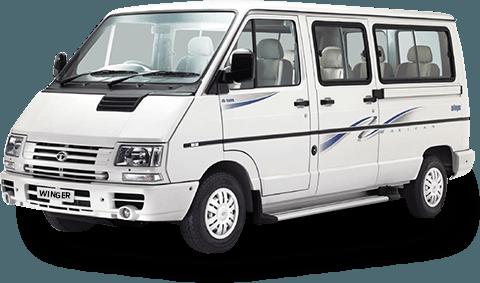 12 Seater Winger  on rent in delhi