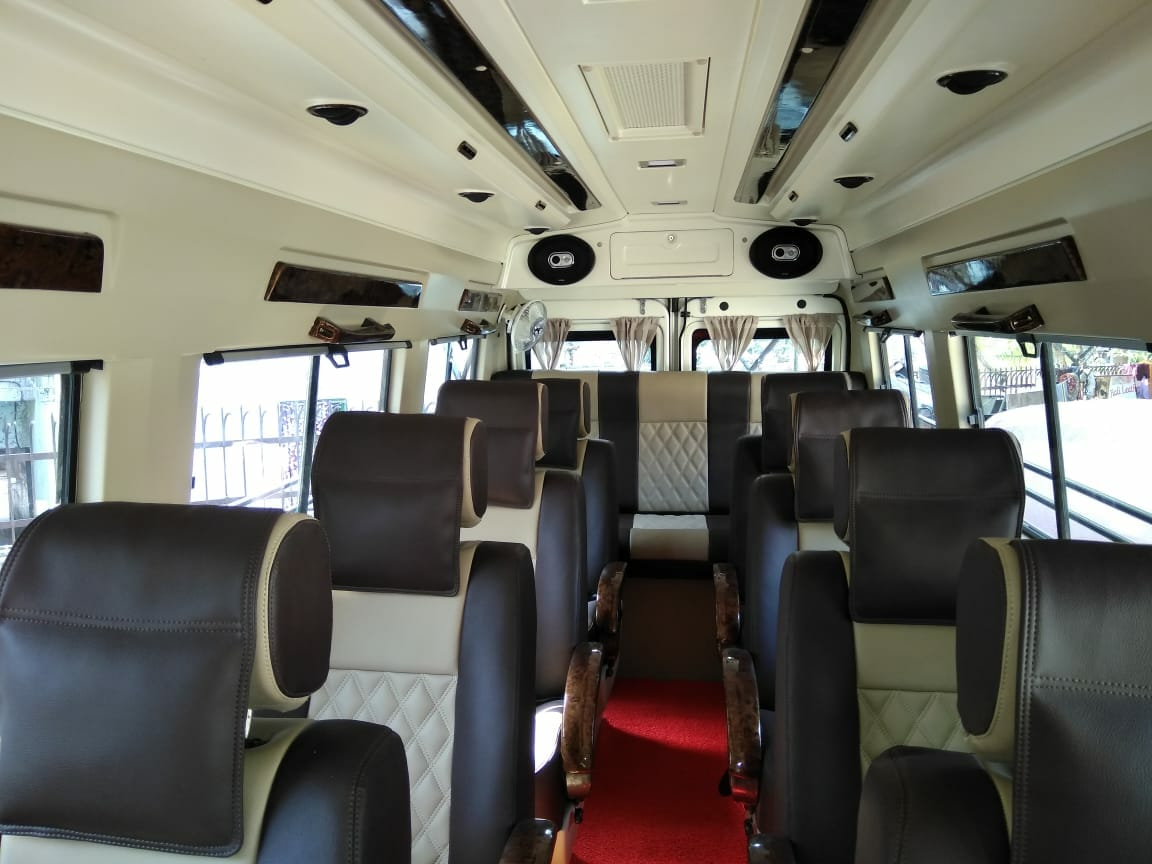 1x1 9 Seater Luxury hire in Delhi