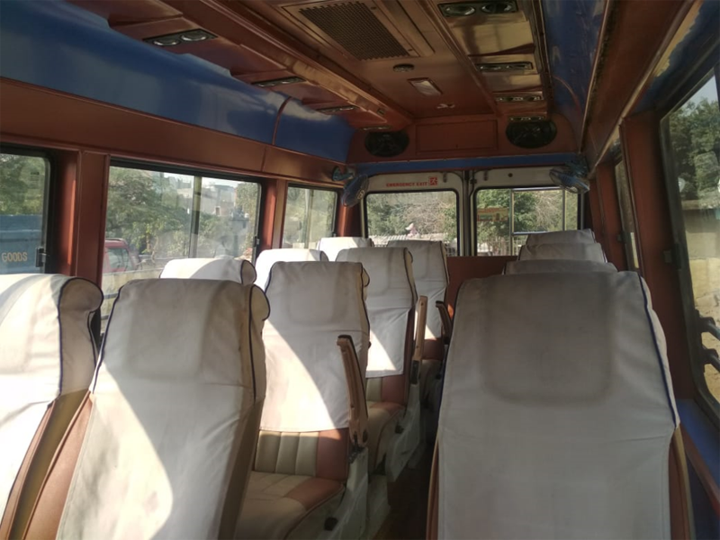 16 Seater  Tempo Traveller hire in Delhi