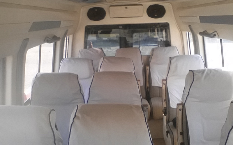 12 Seater Budget Tempo Traveller hire in Delhi